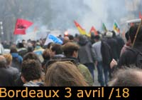 3 avril 2018 à Bordeaux