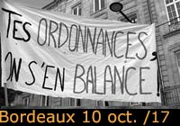 10 octobre 2017 à Bordeaux