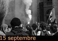 Manifestation du 15 septembre à Bordeaux